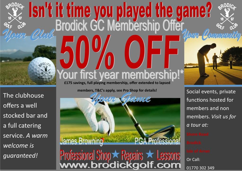 membership offer 2015