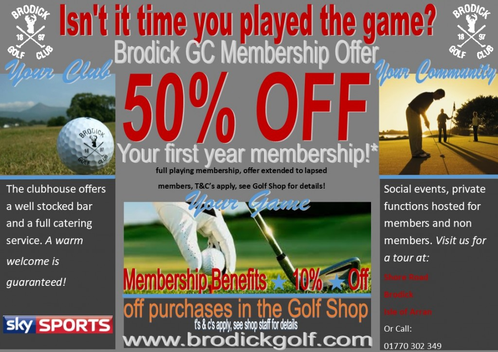 membership offer 2018